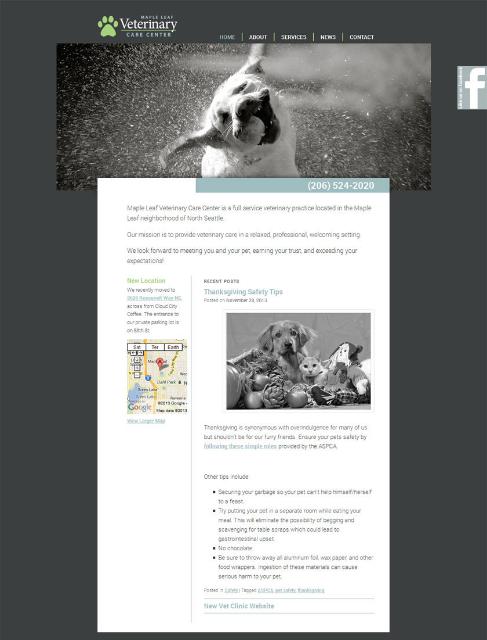 Vet website