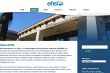 Environmental services website