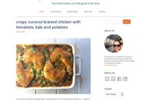 screenshot food blog