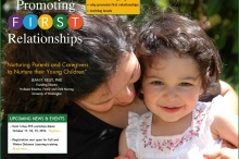 Promoting First Relationships website
