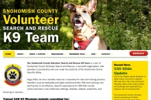 Volunteer K9 Search and Rescue site
