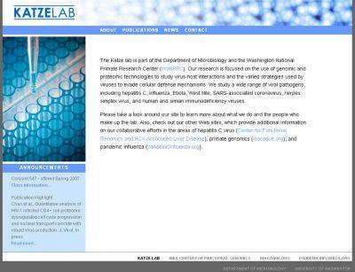 screenshot Katze Lab
