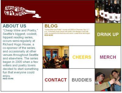 screenshot Cheap Wine & Poetry