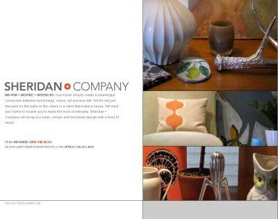 screenshot Sheridan + Company interior design