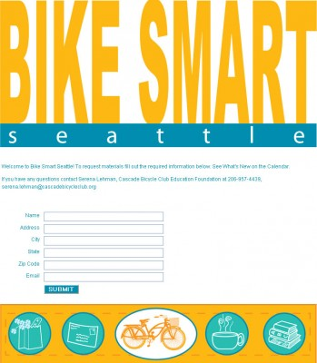 screenshot Bike Smart Seattle
