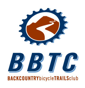 Backcountry Bicycle Trails Club logo