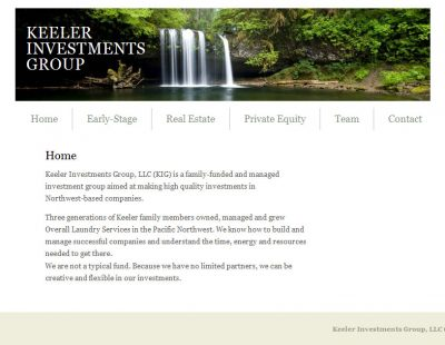 Screenshot Keeler Investments