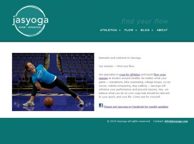 Jasyoga WordPress website