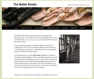 screenshot The Ballet Studio