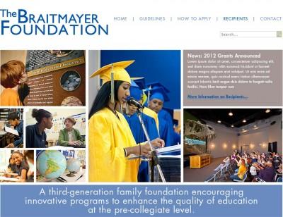 screenshot The Braitmayer Foundation