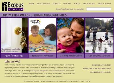 screenshot Exodus Housing