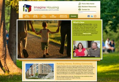 screenshot Imagine Housing