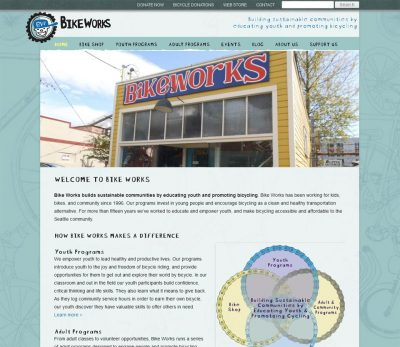Bike Works retail website