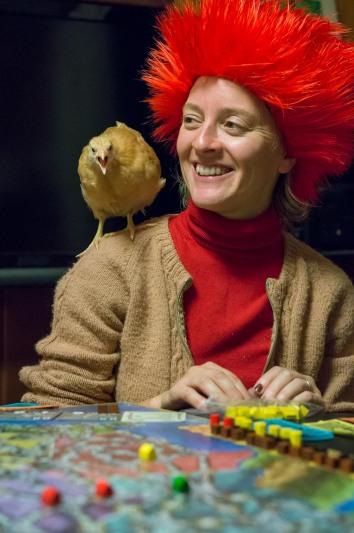 Jenifer McIntyre playing Power Grid