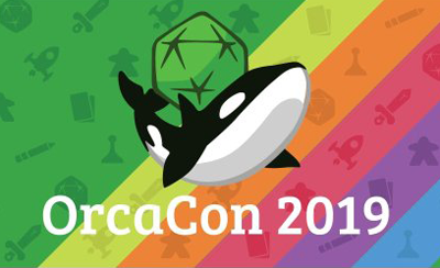 OrcaCon 2019 tabletop games convention