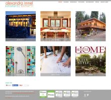 website for Alexandra Immel Residential Design