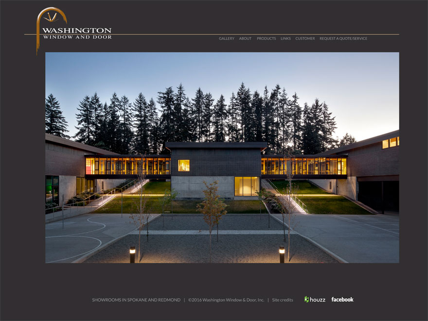 Washington Window and Door 2017 website redesign